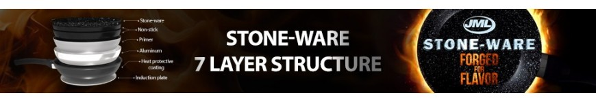 JML Stone-ware: Built with strength, forged for flavor